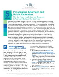 5 Ways Prosecuting Attorneys and Public Defenders Can Use Public Health Data and Resources to Address Substance Use Disorders